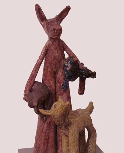 Skulptur von Astrid Sänger